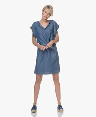 Project AJ117 Helen Tencel Denim Dress - Indigo
