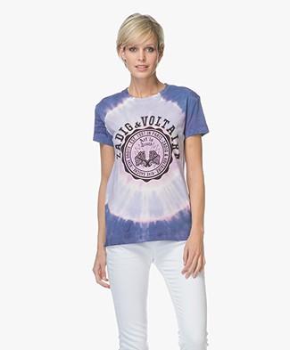 Zadig & Voltaire Walk Tie-dye T-shirt - Blossom