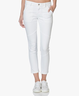 Closed Francesca Cropped Skinny Jeans - Wit