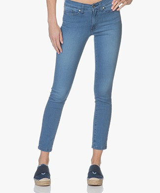 Indi & Cold Skinny Jeans with Stripes - Tejano