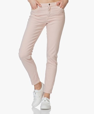 Boss Orange J21 Roseville Slim-fit Jeans - Licht Pastelroze