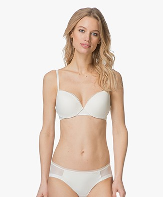 Calvin Klein Sculpted Demi Lift Bra - Ivory