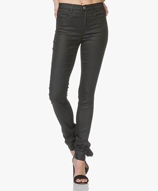 Filippa K Lola Shiny Denim Jeans - Black