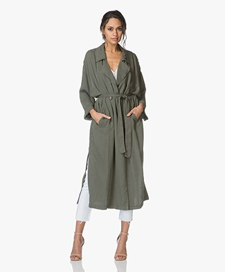 American Vintage Dadycool Lyocell Trenchcoat - Lentille