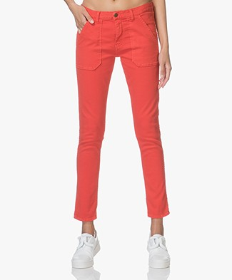 ba&sh Sally Girlfriend Jeans - Grenadine