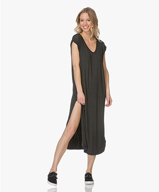 Friday's Project Microstripes Jersey Dress - Black