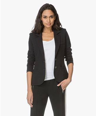 Repeat Tailored Jersey Blazer - Black