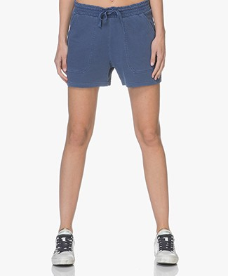 Closed Garment Dyed Cotton Blend Sweat Shorts - Worker