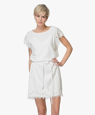 Closed Zahara Embroidery Dress - Ivory