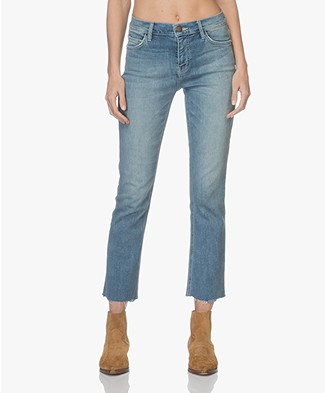 Current/Elliot The High Waist Straight Jeans - Joey Medium