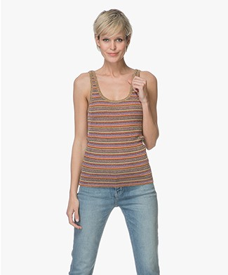 Ba&sh Debardeur Stay Lurex Top - Multicolored