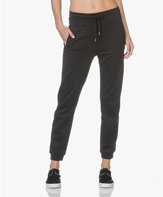 Filippa K Shiny Track Pants - Black