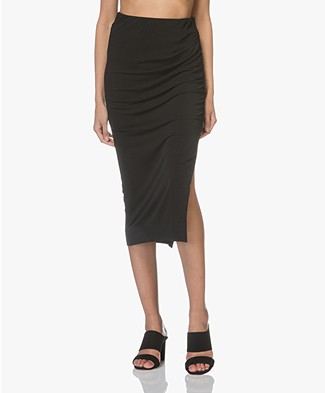 By Malene Birger Dicason Crepe Jersey Skirt - Black