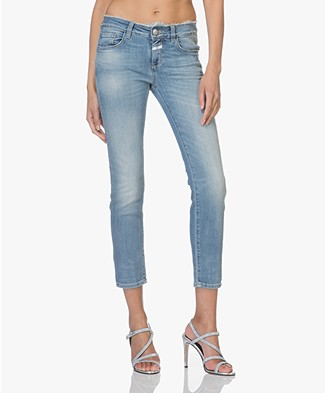 Closed Baker Cropped Slim-fit Jeans - Mid Heaven Blue