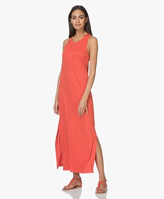 Filippa K Twisted Jersey Tank Dress - Poppy