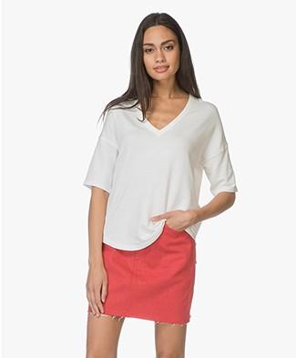 Rag & Bone Phoenix French Terry T-shirt - White