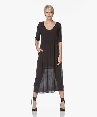BY-BAR Do Crepe Maxi-dress - Black