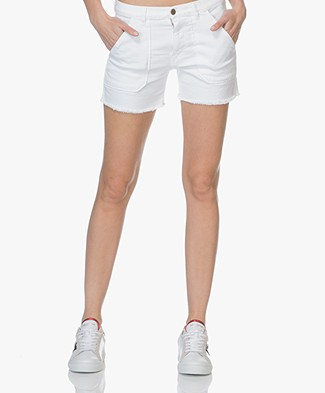 Ba&sh Sirop Denim Short - Wit
