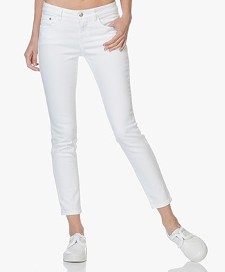 Closed Baker Cropped Slim-fit Jeans - Wit