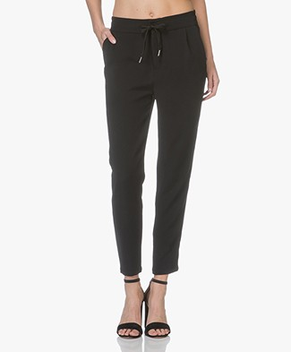 Drykorn Level Loose-Fit Broek - Zwart