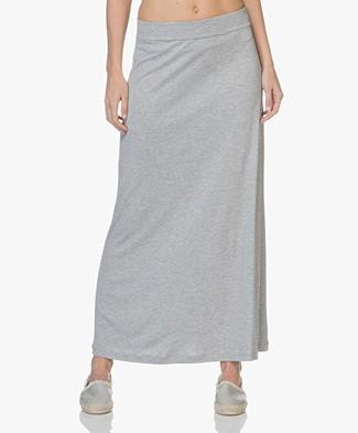 bca7ca180 Filippa K Fit & Flare Jersey Skirt - Grey Melange