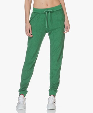 Majestic Modal Blend Terry Sweat Pants - Green