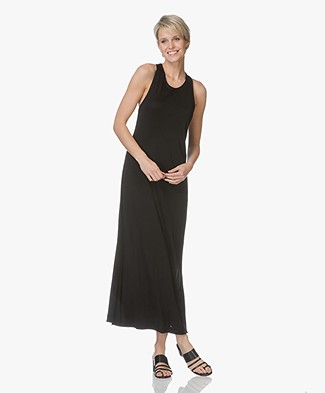 Filippa K Twisted Jersey Tank Dress - Black