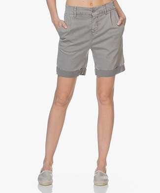 Drykorn Train Lyocell Mix Shorts - Taupe