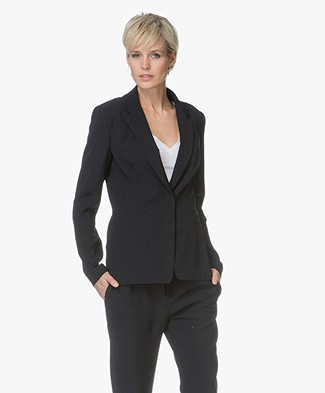 Drykorn Golders Tailored Blazer - Dark Blue