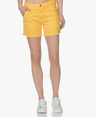 Ba&sh Sirop Denim Short - Geel