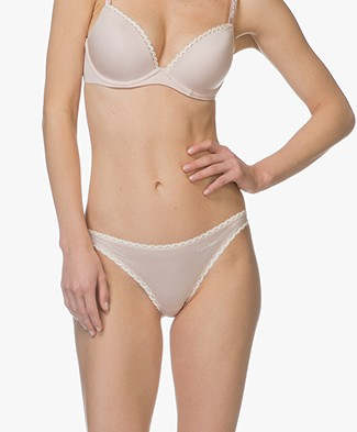 Calvin Klein Seductive Comfort Bikini Briefs - Sheer Blush