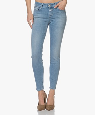 Closed Baker Power Stretch Slim Fit Jeans - Middenblauw