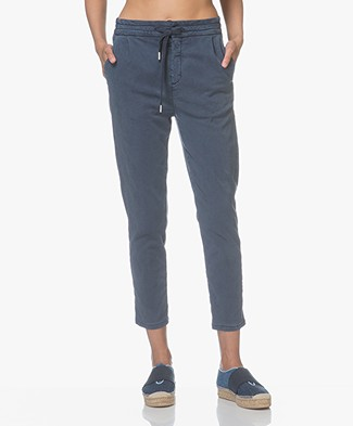 Drykorn Level Lyocell Pants - Dark Blue