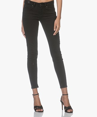 Drykorn Pay Cropped Skinny Jeans - Black