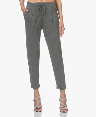Friday's Project Double Jersey Sweatpants - Lead Grey Melange