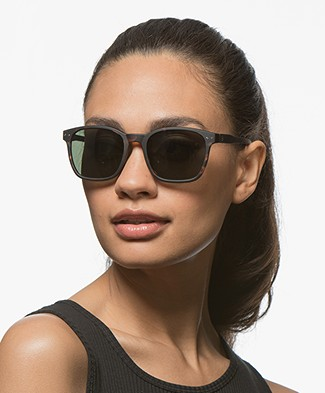 IZIPIZI Sun Nautic Polarized Sunglasses - Tortoise/Green Lenses