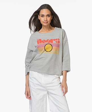 MKT Studio Sweety Doors Sweater - Melange Grey