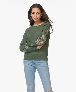 Zadig & Voltaire Upper Bis Brode Sweater - Tropical