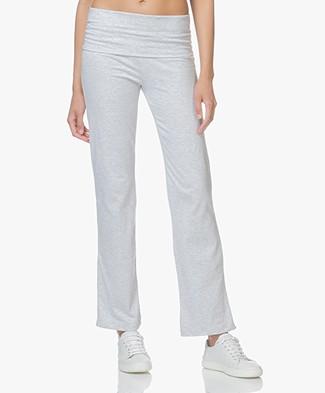 Petit Bateau Jersey Sweatpants - Grey Melange