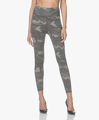 Ragdoll LA Camo Printed Leggings - Army