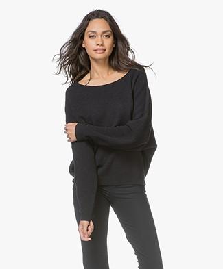 American Vintage Damsville Sweater - Carbon Black