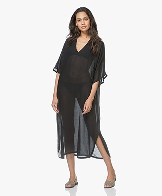 Filippa K Soft Sport Zoe Beach Kaftan - Black