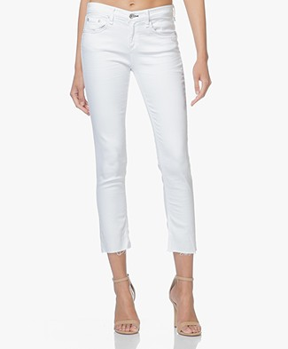 Rag & Bone / Jean Ankle Dre Jeans - White