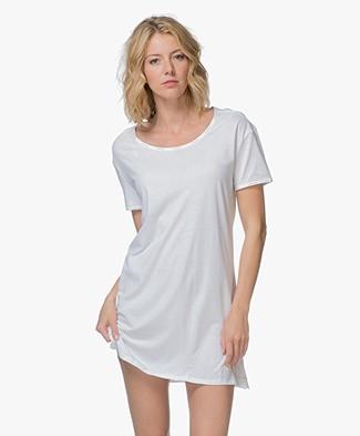 Calvin Klein Jersey Nightshirt - White