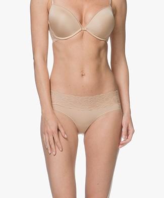 Calvin Klein Seductive Comfort Kanten Hipster - Bare