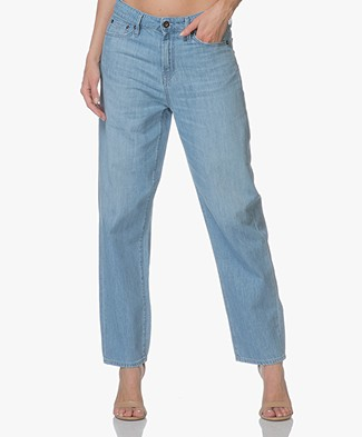 Denham Alex Loose-fit Jeans - Lichtblauw