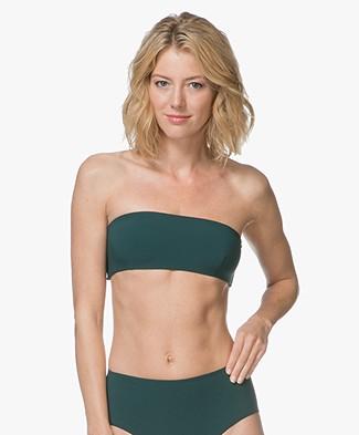 Filippa K Soft Sport Bandeau Bikini Top - Emerald