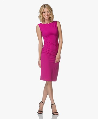 Filippa K Ruched Jersey Dress - Orchid