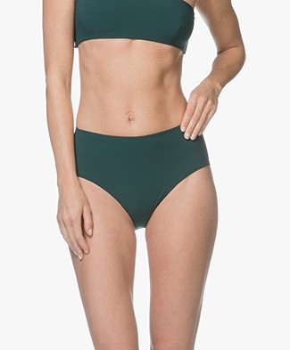 Filippa K Soft Sport High Bikinislip - Emerald