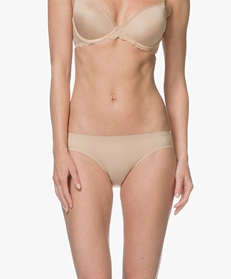 Calvin Klein Perfectly Fit Invisible Bikini Briefs - Bare